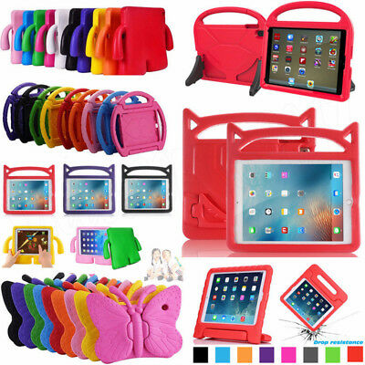 "Kids Shockproof EVA Foam Stand Case Cover for New iPad 9.7"" 2017 / 2018 Release"