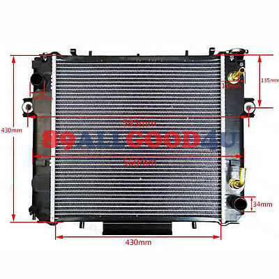 Radiator 16410-13650-71 For Toyota 6FD10/6FD15 Diesel Engine Forklift Truck