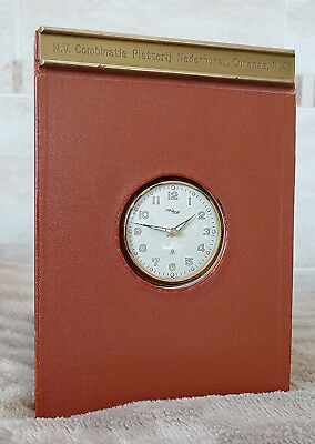 RARE IMHOF Diary Watch Swiss 1950 UNUSED