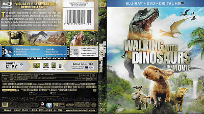 Walking With Dinosaurs (Blu-ray/DVD, 2014, 2-Disc Set) 87 minutes Rated PG