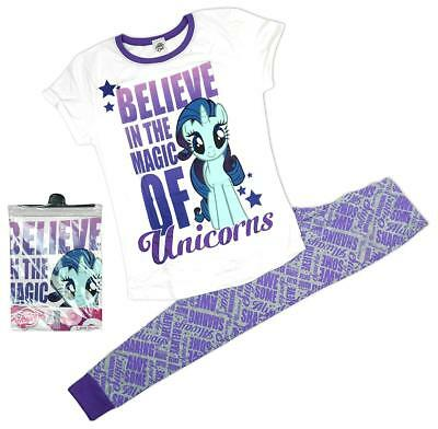 Womens Pyjamas My Little Pony Pjs Believe Magic Unicorns Gift Pack Sizes 8 to 22