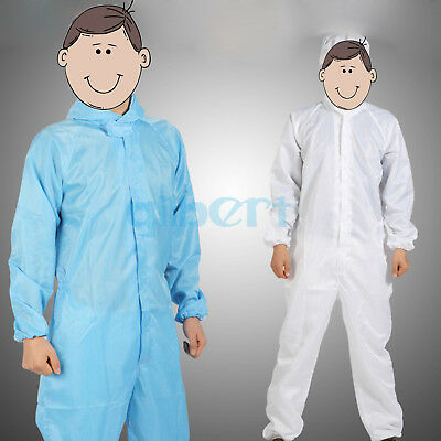 Antistatic Dust Proof Clothes Pesticide Resistant Paint Suit Work Lab Coverall
