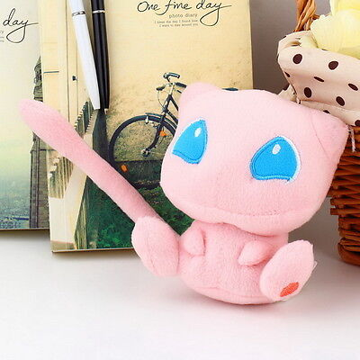 Rare Mew Plush Soft Doll Gift Stuffed Animal Game Collect CE