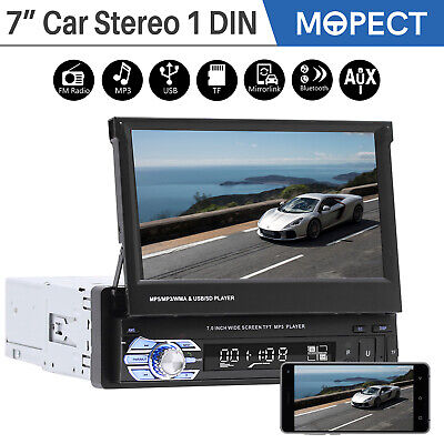 """7"""" Car Stereo Radio MP5 Player 1 DIN Touch Screen FM USB Bluetooth Receiver 9901"""