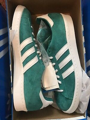 best cheap 387b2 31d4a New Adidas Campus 80s Aqua Teal Authentic Size 10 Retro Vtg Vintage Og Rare  Nice