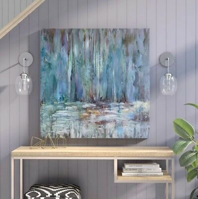 Uttermost Blue Waterfall Art