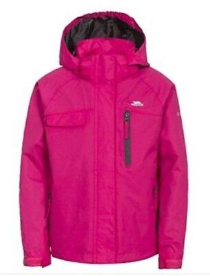 "Trespass Girls ""Pink Lady Jacket With Hood Age 7/8 Years"