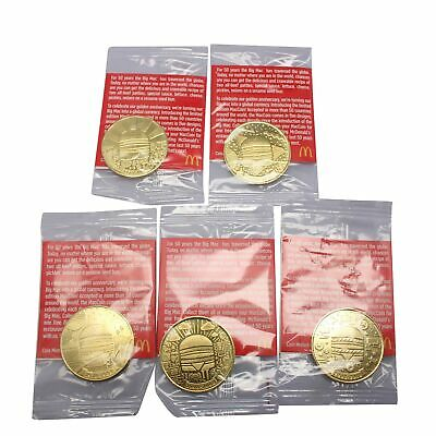 McDONALDS BIG MAC 50th ANNIVERSARY COIN MACCOIN MACCOINS PICK YOUR OWN COINS!