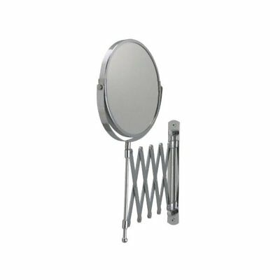 IKEA FRACK Wall Mount Bathroom Magnifying Mirror Stainless Steel **New**