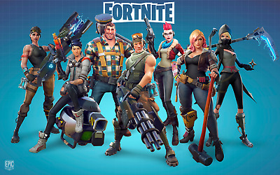FORTNITE FORTNIGHT Large Canvas* Like Print A3  🇬🇧 FREE NEXT DAY DELIVERY 🇬🇧
