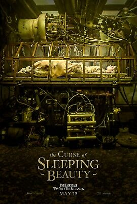 "Movie Poster 2018 Fantasy ""The Curse Of Sleeping Beauty"" Glossy   (3 Sizes)"