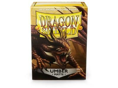 Umber Matte 100 ct Dragon Shield Sleeves Standard Size FREE SHIPPING! 5% OFF 2+