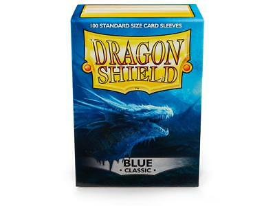 Blue Classic 100 ct Dragon Shield Sleeves Standard Size FREE SHIPPING! 5% OFF 2+