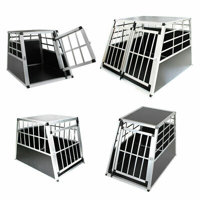 ALU Hundebox Hunde transportbox Autotransportbox Alubox Gitterbox reisebox 💖💖