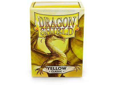 Yellow Classic 100 ct Dragon Shield Sleeves Standard FREE SHIPPING! 5% OFF 2+