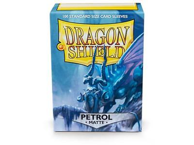 Petrol Matte 100 ct Dragon Shield Sleeves Standard Size FREE SHIPPING! 5% OFF 2+