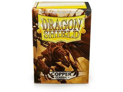 Copper Classic 100 ct Dragon Shield Sleeves Standard FREE SHIPPING! 5% OFF 2+