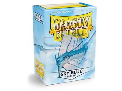 Sky Blue Matte 100 ct Dragon Shield Sleeves Standard FREE SHIPPING! 5% OFF 2+