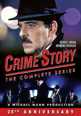 Crime Story: The Complete Series, Good DVD, Stanley Tucci, Kevin Spacey, Julia R