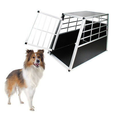 Hundetransportbox Hundebox Reisebox Alu Box Autotransportbox Gitterbox Grosse L