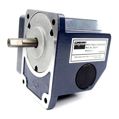 Continuous Speed Reducer - Right Angle Gear Box | 5:1 Ratio | 0.03 Input HP