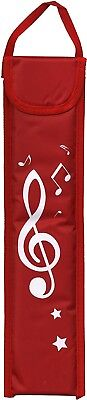 (Red) - Recorder Deluxe Bag (Red). Recorder deluxe bag - RED. Shipping Included