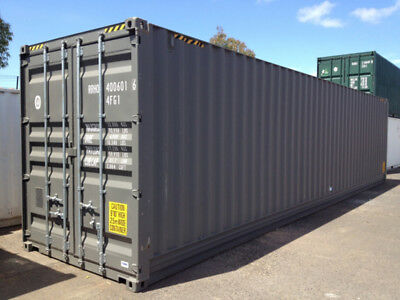 "New 40ft ""one-trip"" shipping container for sale in New York, NY"