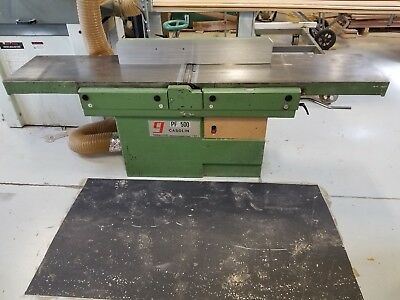 "Casolin PF500 Heavy Duty 20"" Wood Jointer - Tersa Head"