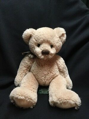 "Popular Brand Russ Teddy Bear Kolina Real Soft Toy Beige Brown 12"" Artist"
