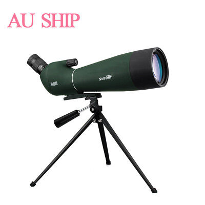 SV28 20-60x80mm BAK4 Prism Angled Zoom MC Spotting Scope Bird Watching+Tripod AU