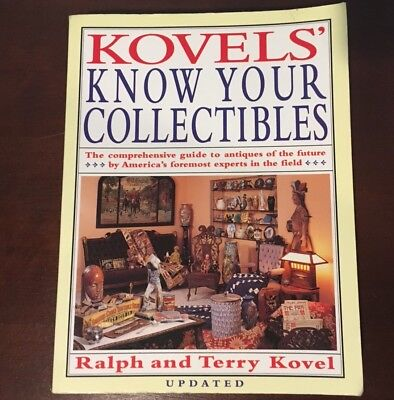 Kovels' Know Your Collectibles BUYING/SELLING ON EBAY REFERENCE BOOK