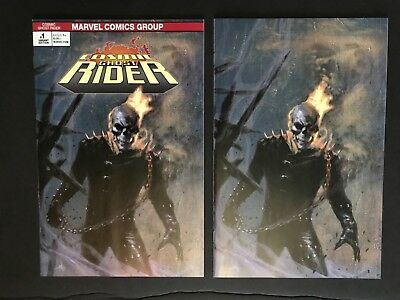 Cosmic Ghost Rider #1 NM Dell'Otto Virgin Variant and Trade - both books