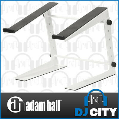 DJ Controller & Laptop Stand Adjustable Height up to 340mm - White