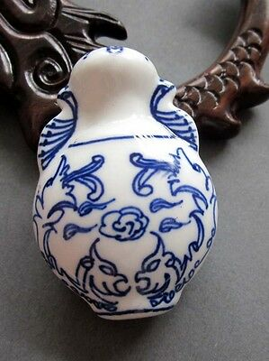 1Pcs Lucky Phoenix Porcelain Vase Bead Finding For Jewelry Making