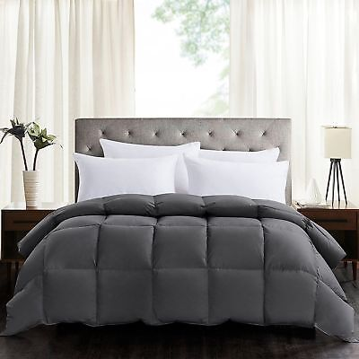 100% Polyester Soft Goose Down Alternative Comforter Sets Twin Queen King Size