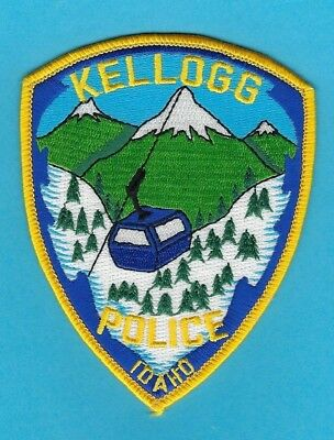 Kellogg Police Department Patch ~ Idaho ~ Beautiful Artwork &  Awesome Colors