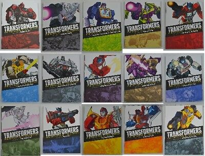 Transformers Definitive G1 Collection Hardback Graphic Novels 1 6 8 10 16 18 19