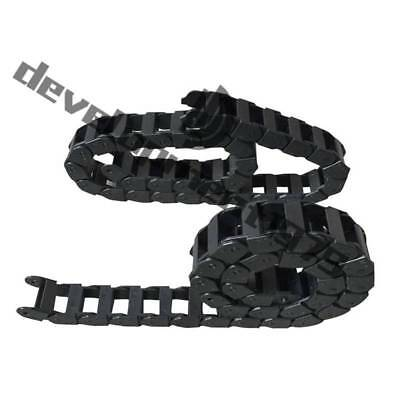 "15*20mm R28 1000mm (40"") Cable drag chain wire carrier"