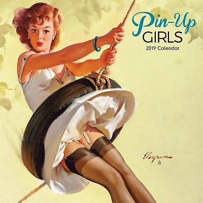 Pin Up Girls Official 2019 Wall Calendar New & Sealed