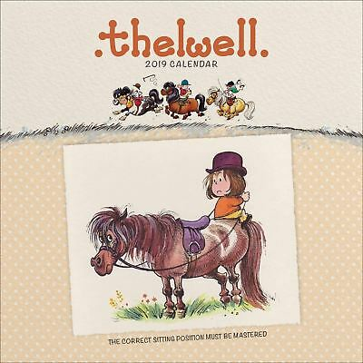 Thelwell Official 2019 Wall Calendar Wiro New & Sealed
