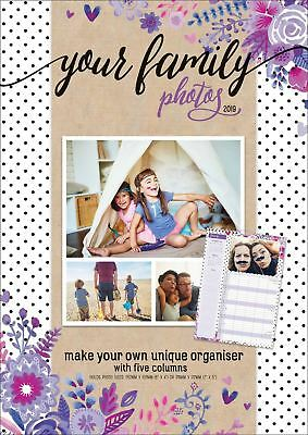 Your Family Photos Planner Official 2019 Wall Calendar A3 New & Sealed
