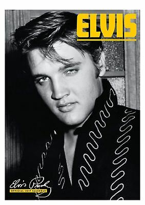 Elvis Presley Official 2019 Wall Calendar A3 New & Sealed
