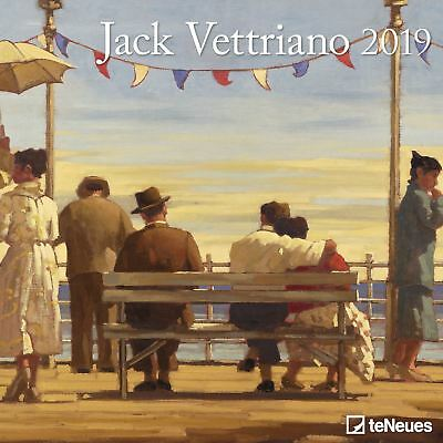 Jack Vettriano Official 2019 Wall Calendar New & Sealed