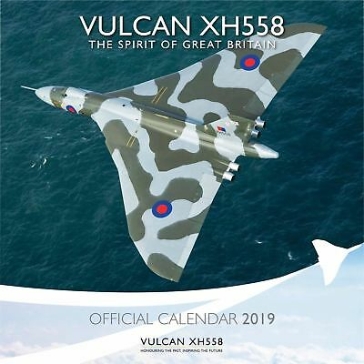 Vulcan To The Sky Official 2019 Wall Calendar New & Sealed