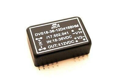 DC-DC CONVERTER DVS18-36-12D416BHM IN 18-36VDC OUT 12VDC SMD24 Wandler  #709028