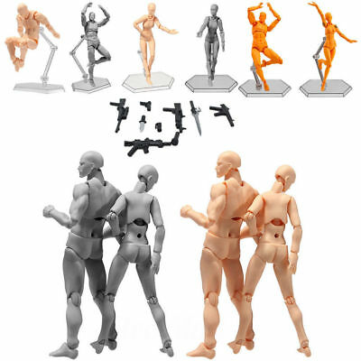 2.0 Male/Female Action Figma Archetype Figure Body Toy Arts Anime Model Drawing