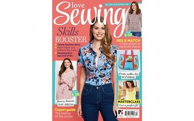 Love Sewing Issue 57 Magazine With Free Mccalls Classic Shirt & Tunic Patterns