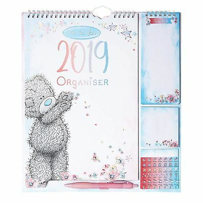 Me To You Classic Household Planner Official 2019 Wall Calendar with Stickers