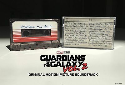 Soundtrack- GUARDIANS OF THE GALAXY 2 AWESOME MIX VOL.2 CASSETTE TAPE NEW!