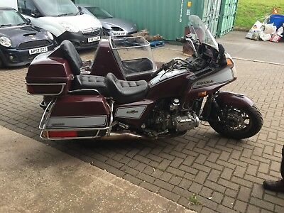 HONDA GOLDWING GL1200 sidecar outfit